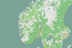 Interactive map of monitored PV installations in Norway is now live