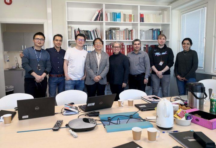 Prof. Kazuki Morita from UTokyo visited NTNU to strengthen bilateral cooperation on solar-grade Si refining research