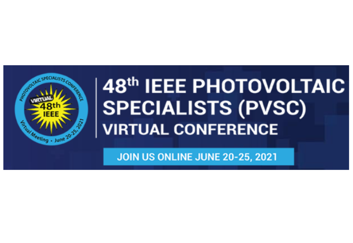 Interesting results from the Centre presented this week at IEEE PVSC